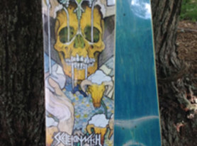 WIN A Super Rare SKELETONWITCH 'Beyond The Permafrost' Skate Deck