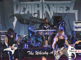 Metal Life Review DEATH ANGEL Show Los Angeles Dec 26