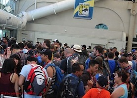 SDCC14: Two Second Recap on Preview Night of Comic-Con