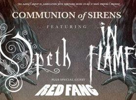 Show Review: Opeth, In Flames, Red Fang On Communion of Sirens Tour