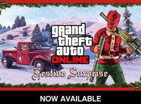 GTA Online Festive Surprise Now Available