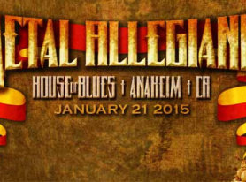 Metal Allegiance Coming To The House Of Blues In Anaheim January 21