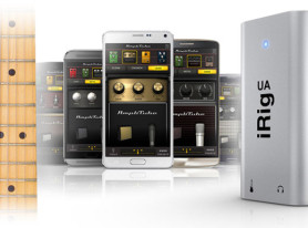 IK Multimedia Announces iRig UA Guitar Effects Processor For Android
