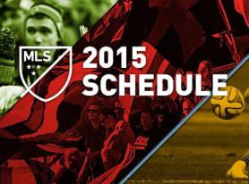 2015 MLS Schedule Announced