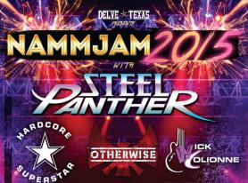 STEEL PANTHER Confirmed As Headliner For NAMMJAM 2015