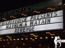 Metal Life Show Review: WATAIN and MAYHEM Jan 2015