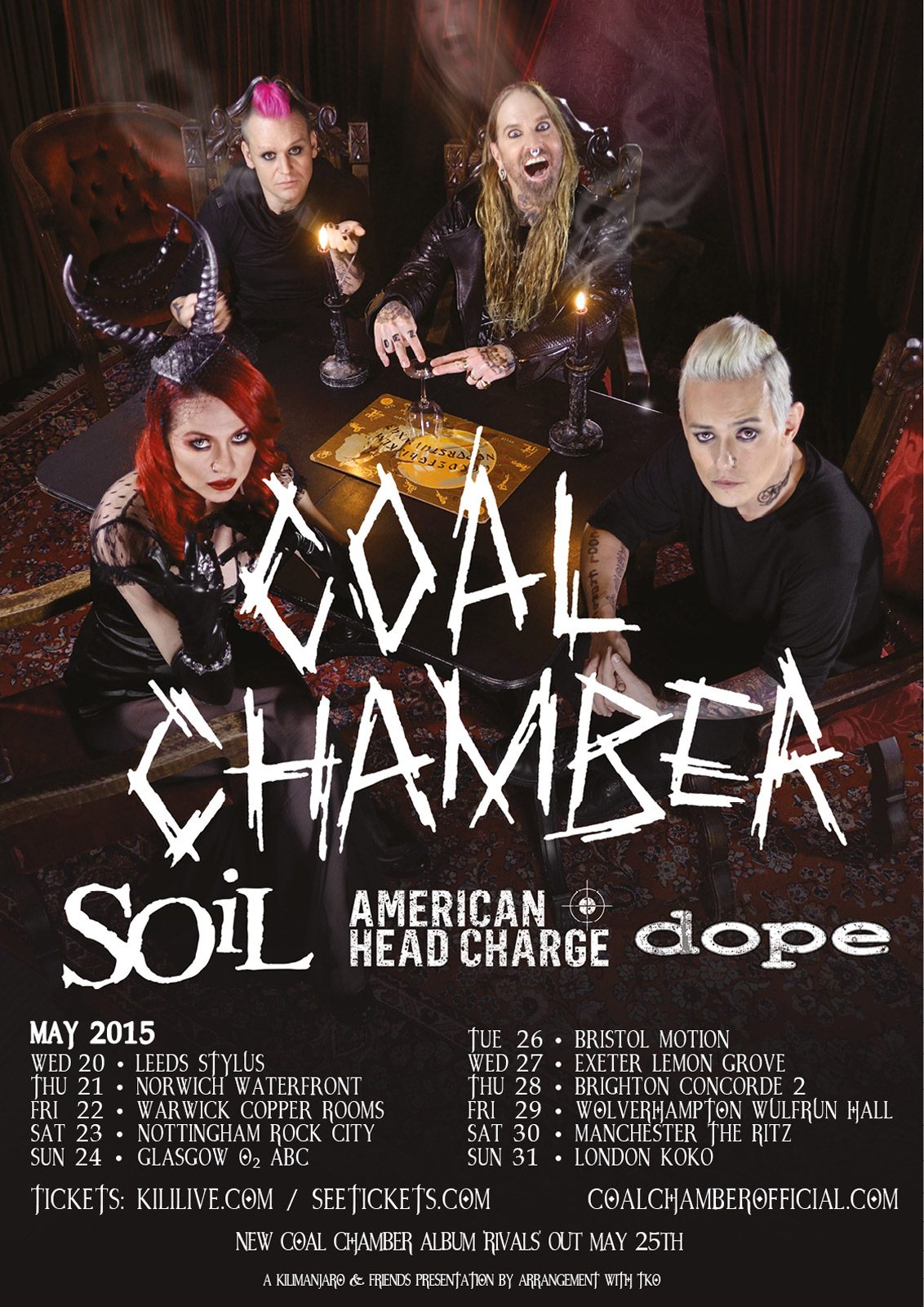 Soil announce uk and euro tour dates with coal chamber for Soil band albums