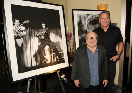 Danny DeVito and Ethan Wayne - photo by Chad Adelder