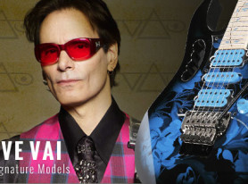 Ibanez Reveals New Steve Vai Signature Model Guitars
