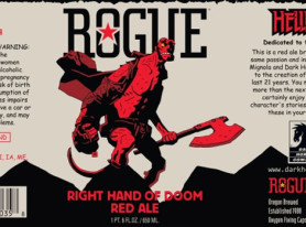 Dark Horse Comics and Rogue Ales To Release Hellboy Beer