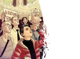 """SciFi Comic Book """"Broken World"""" Coming In June, Can Elena Escape From Earth?"""