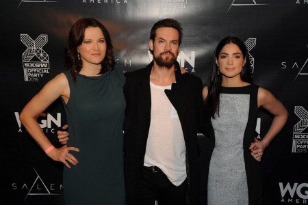 """Salem"" Party at SXSW Film 2015 with Lucy Lawless, Shane West, Janet Montgomery"
