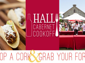 6th Annual HALL Cabernet Cookoff Returns on April 25 in Napa Valley