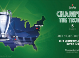 Heineken Brings The Glory Of The UEFA Champions League Stateside