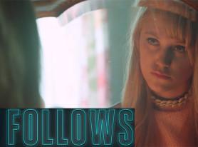"Maika Monroe Stars In Horror Movie ""It Follows"" In Theaters March 13"
