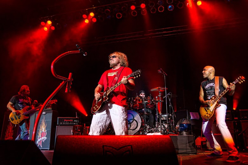 sammy hagar and the circle announce their debut live