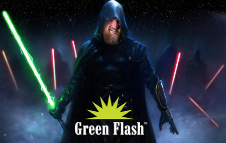 Green Flash head brewer Chuck Silva has joined the Dark Side apparently...