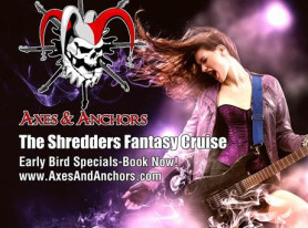 ZAKK WYLDE, YNGWIE MALMSTEEN, MICHAEL SCHENKER and More on the 2016 AXES & ANCHORS Cruise