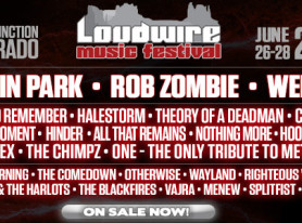 LOUDWIRE MUSIC FESTIVAL Announces Full Lineup