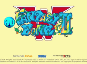 3D Fantasy Zone II W Soars Today For Nintendo 3DS