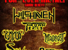 Metal Bands To Help The 'FUR-EVER FRIENDS' Campaign With Hollywood Concert June 13