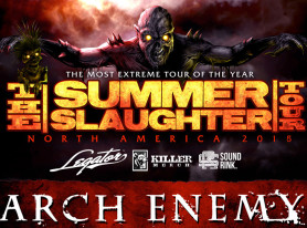 """ARCH ENEMY To Headline """"Summer Slaughter 2015″ North American Tour"""