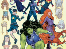 A-FORCE #1 Assembles the Women of Marvel this Fall