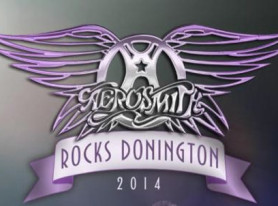 "AEROSMITH Premieres ""Walk This Way"" Excerpt From ""Aerosmith Rocks Donington 2014"" Concert Film"