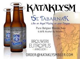 """KATAKLYSM to Release """"St. Tabarnak"""" Blonde Ale Beer"""