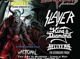 COLDCOCK Whiskey Announces ROCKSTAR ENERGY DRINK MAYHEM FESTIVAL Signings Featuring SLAYER's Kerry King