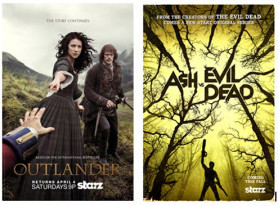 SDCC News: Starz Brings Scares And Swoons To San Diego Comic-Con 2015 With Outlander And Ash Vs Evil Dead