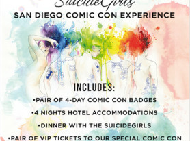 "Suicidegirls Announce ""The Ultimate San Diego Comic-Con Experience"" Auction"
