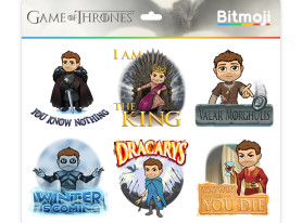 SDCC: Game of Thrones Bitmojis Are Here