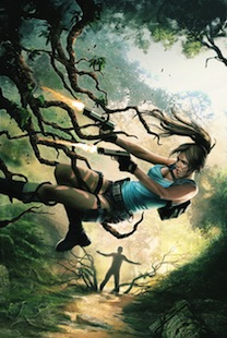 Lara Croft the Frozen Omen