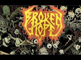 "BROKEN HOPE Release Trailer For Live DVD/Blu-Ray ""Live Disease At Brutal Assault"""