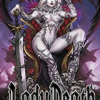 LADY DEATH: DAMNATION GAME #1 IS GONNA RAISE HELL!