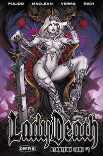 Lady Death: Damnation Game #1