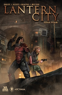 Lantern City #4 main cover