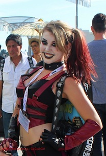 SDCC15 Harley Cosplay