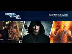 Heroes & Villains Fan Fest to Debut in San Jose, California November 2015