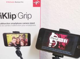 Metal Life Gear Review: IK Multimedia iKlip Grip