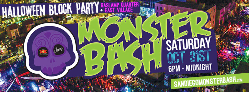 Halloween San Diego halloween san diego reader Monster Bash The Largest Halloween Block Party In San Diego Features Devils Playground Vip Zombie Apocalypse And More