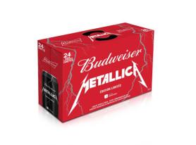 """Budweiser Creates METALLICA """"Infused"""" Beer"""