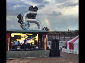 Post Punk Band THE POP GROUP Perform At Bansky's Dismaland