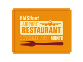 HMSHost's Airport Restaurant Month Returns This October