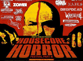 Philip H. Anselmo's HOUSECORE HORROR FESTIVAL Announces Official Film Lineup And Second Stage Bands
