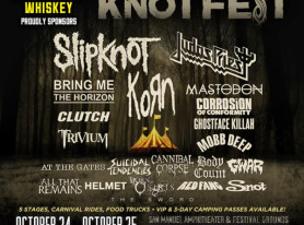 Coldcock Whiskey Unleashes the Coldcock Extreme Stage Knotfest 2015