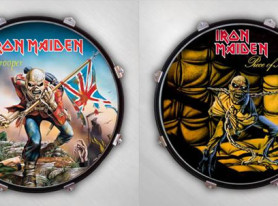 Select a Head Adds British Heavy Metal Band IRON MAIDEN to Artist Roster of Drum Displays