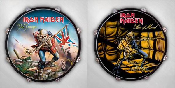 select a head adds british heavy metal band iron maiden to artist roster of drum displays. Black Bedroom Furniture Sets. Home Design Ideas
