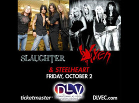 Recap: SLAUGHTER, VIXEN And STEELHEART Performance in Las Vegas